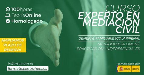 Curso Homologado Experto en Mediación Centro Hera