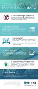 Infografia Mejorar Rendimiento Examenes
